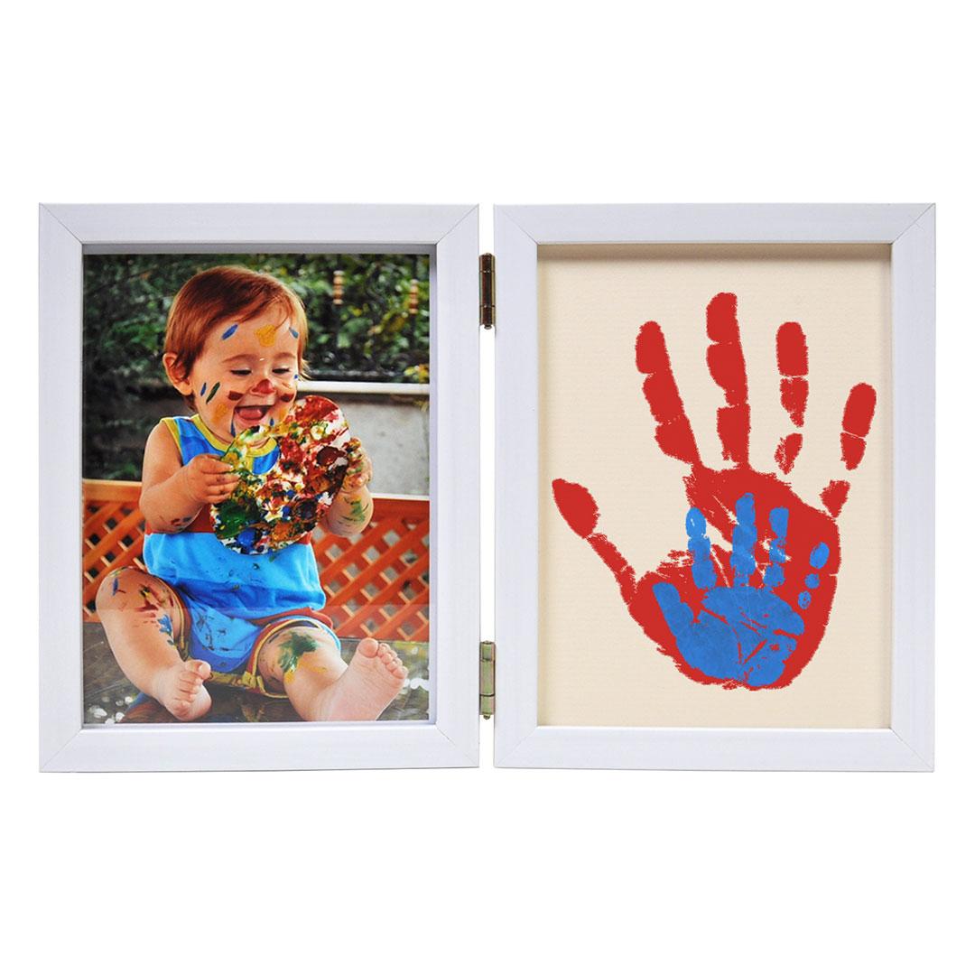 Рамка за снимки с цветен отпечатък