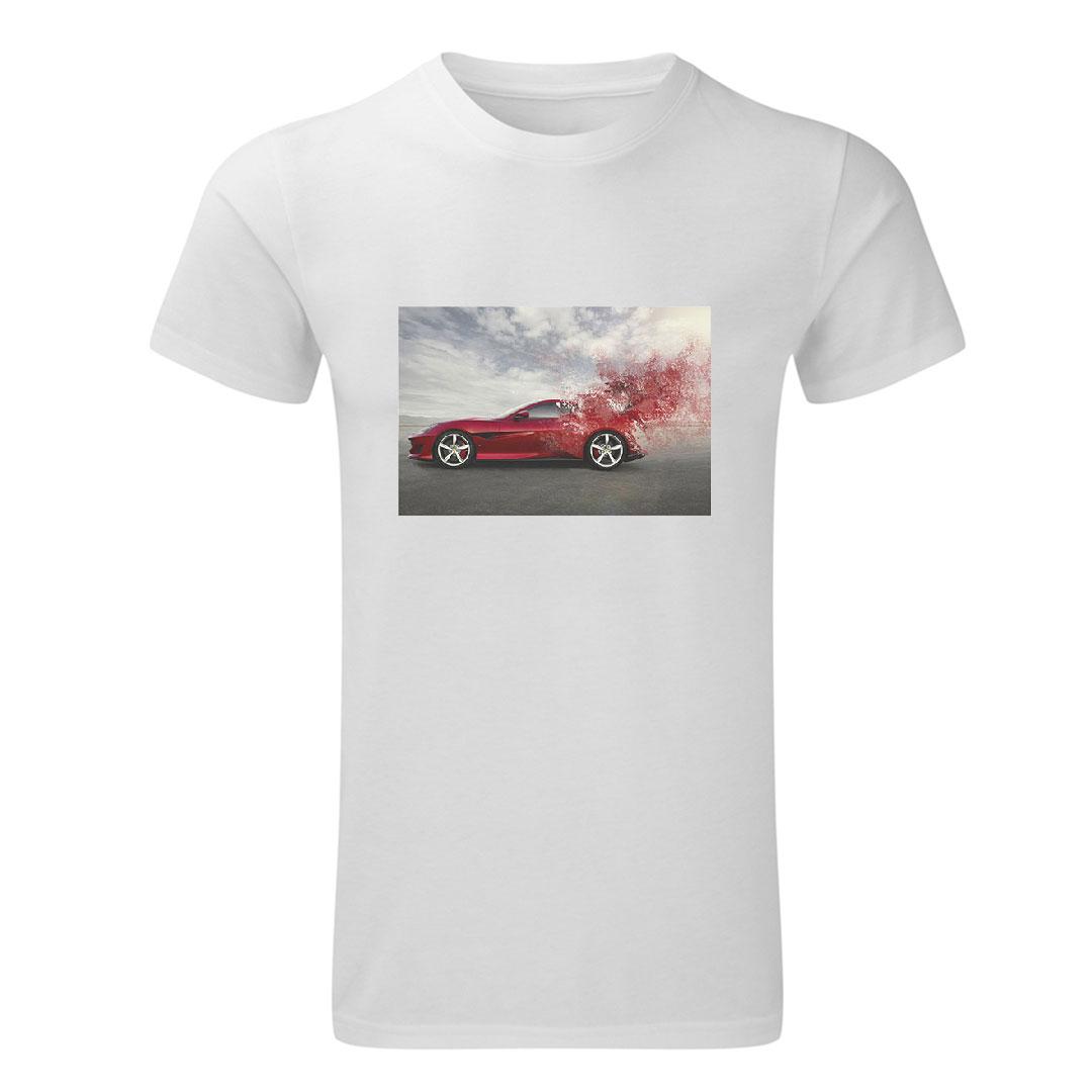Мъжка тениска със снимка - S