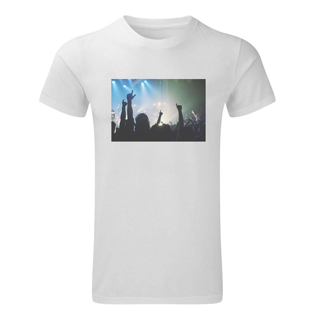 Мъжка тениска със снимка - XL