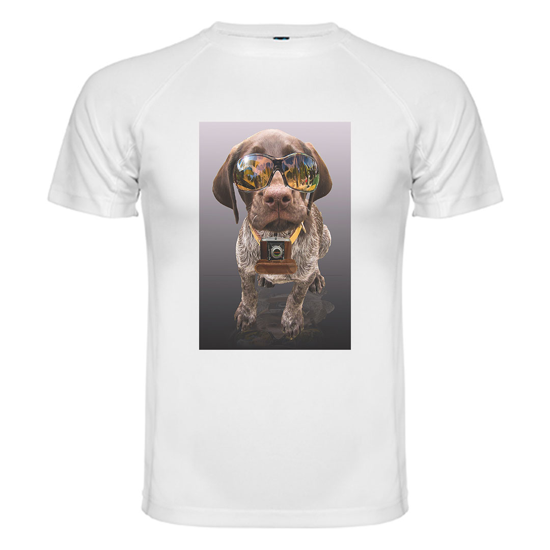 Мъжка тениска със снимка - XXXL