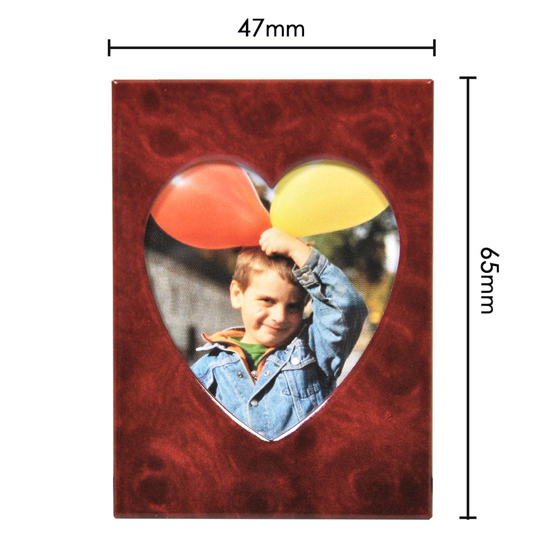 Мини рамка за снимки - Red