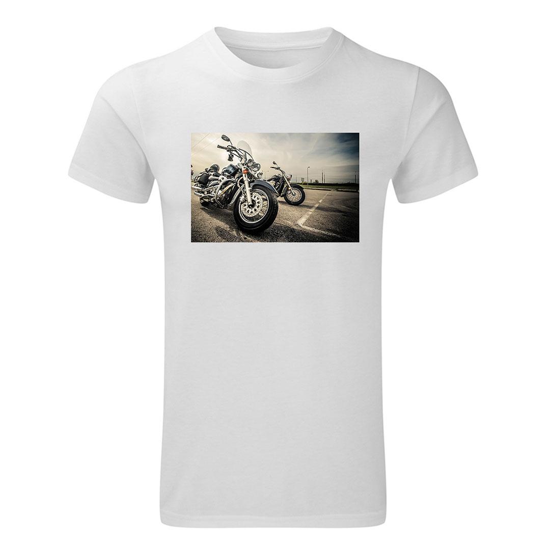 Мъжка тениска със снимка - L