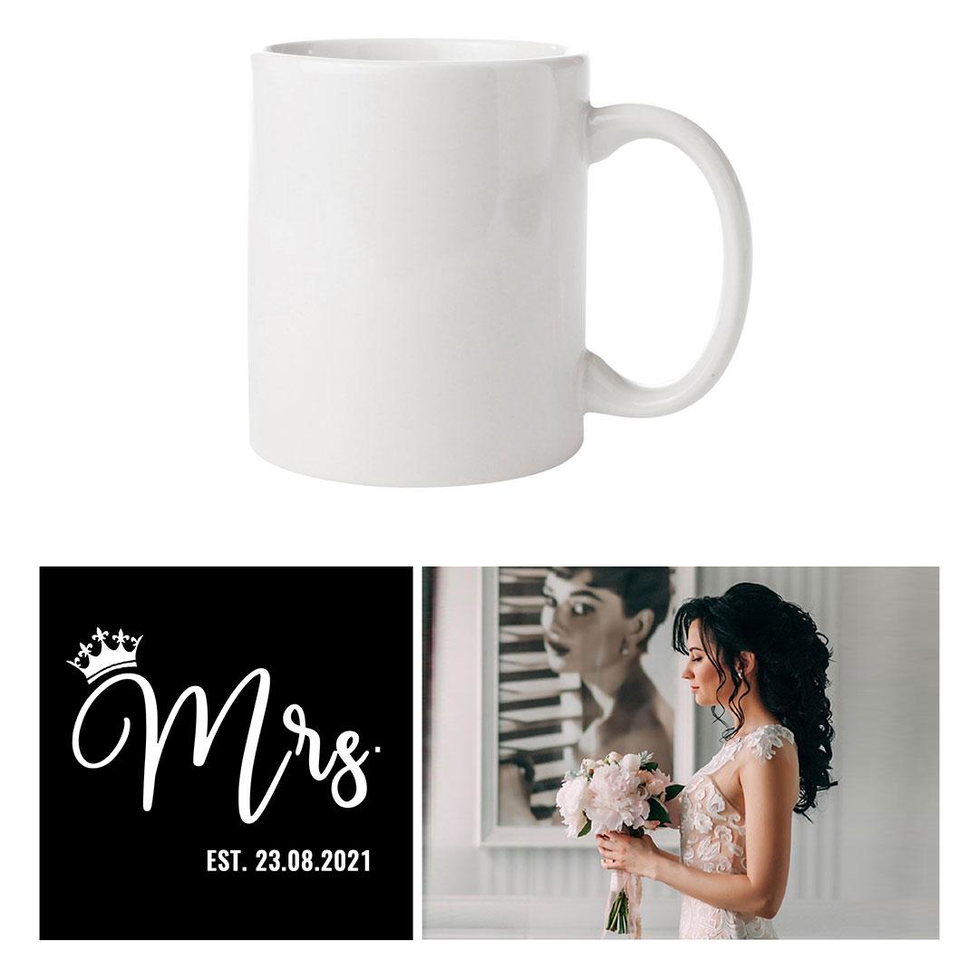 Чаша за Младоженци - за Нея